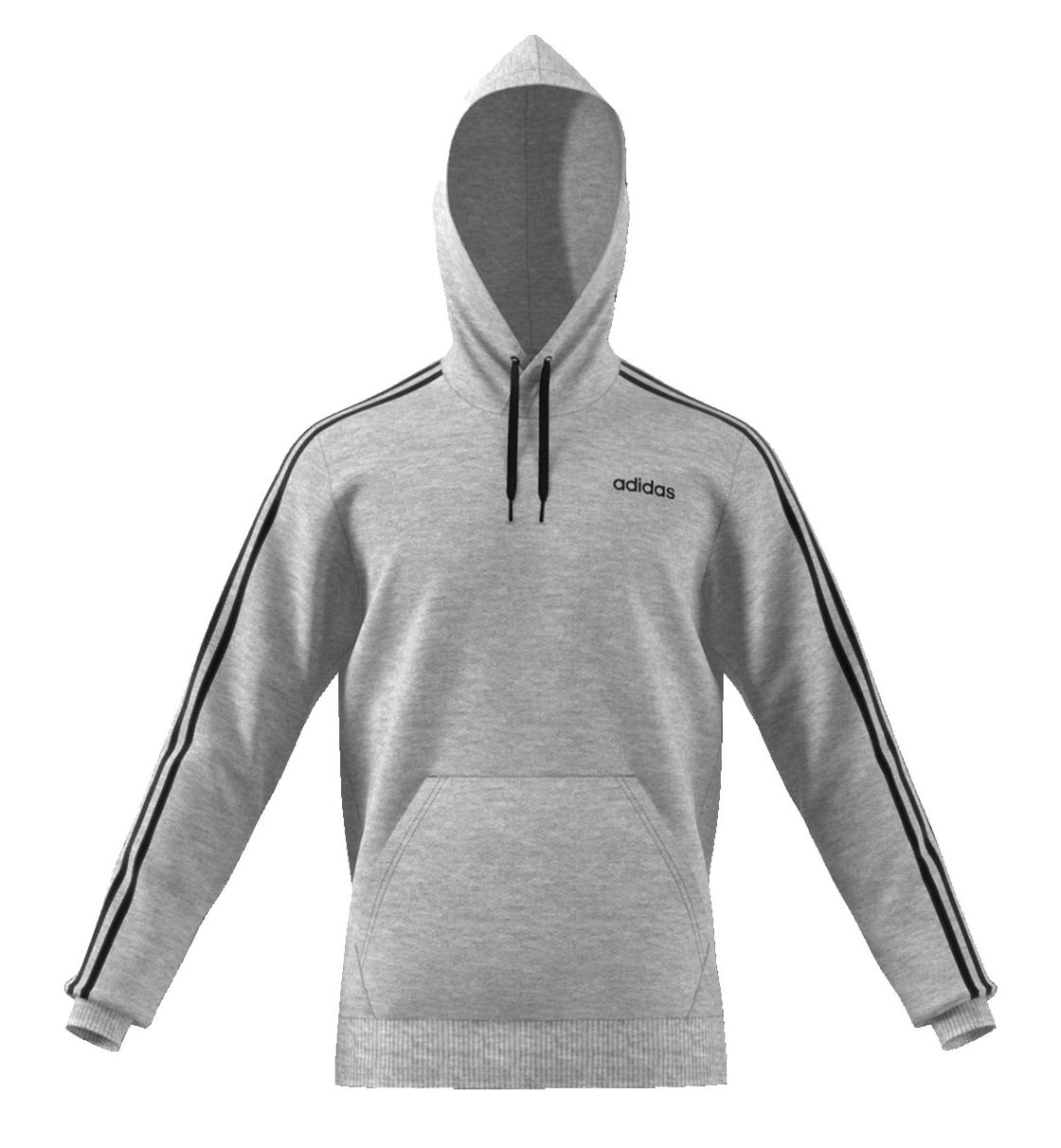 Adidas Fw19 Essentials 3 Stripes Pullover French Terry