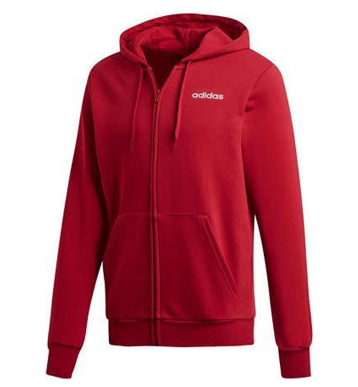 Adidas Fw19 Essentials Plain Fullzip Hoodie