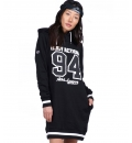 Body Action Fw19 Women Slouch Hood Dress