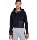 Body Action Γυναικείο Φούτερ Με Κουκούλα Fw19 Women Sport Crop Hoodie 061932