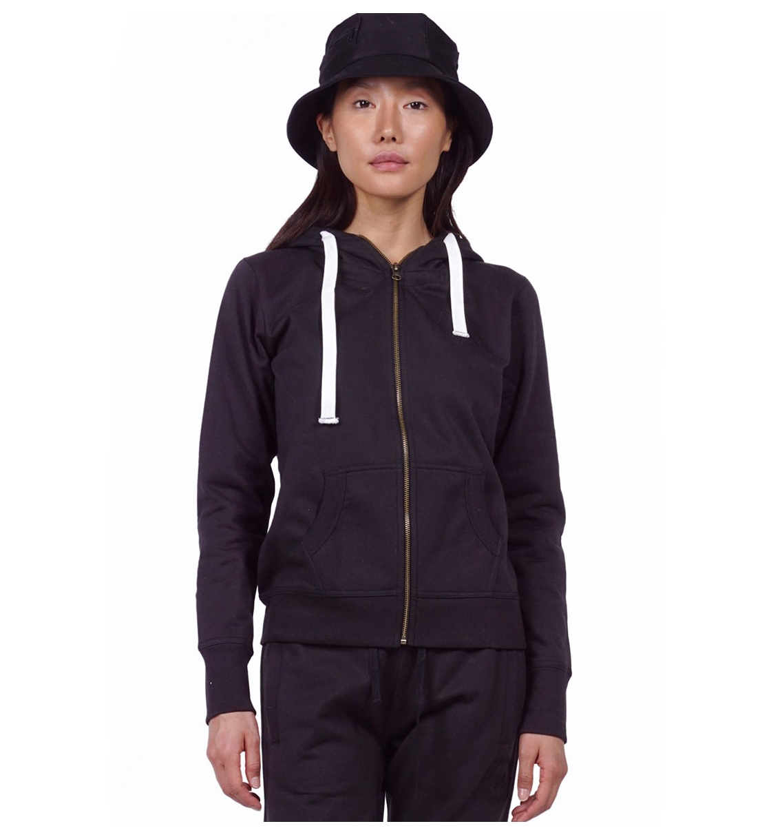 Body Action Fw19 Women Hooded Jacket