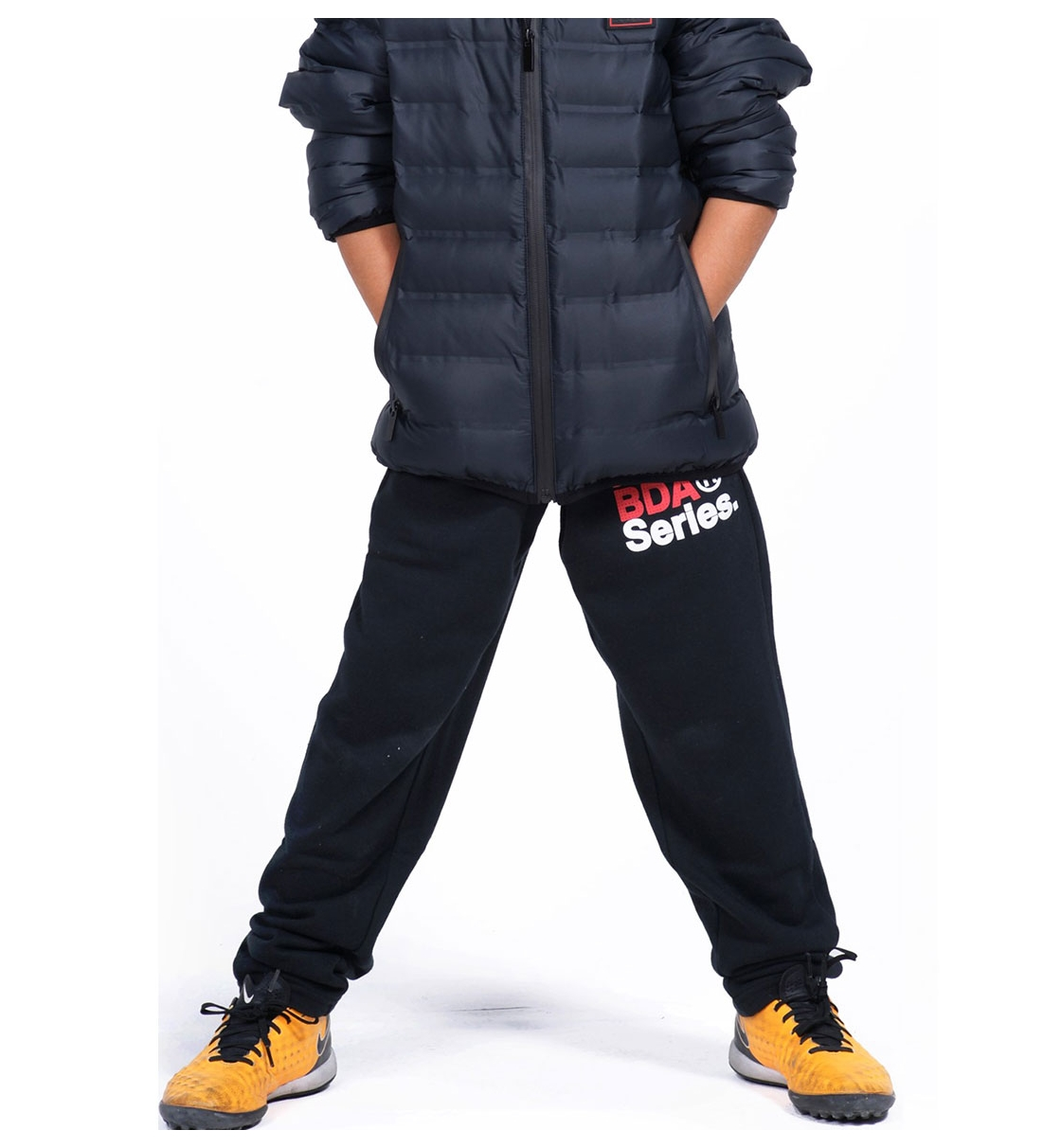 Body Action Fw19 Boys Basic Sweat Pants