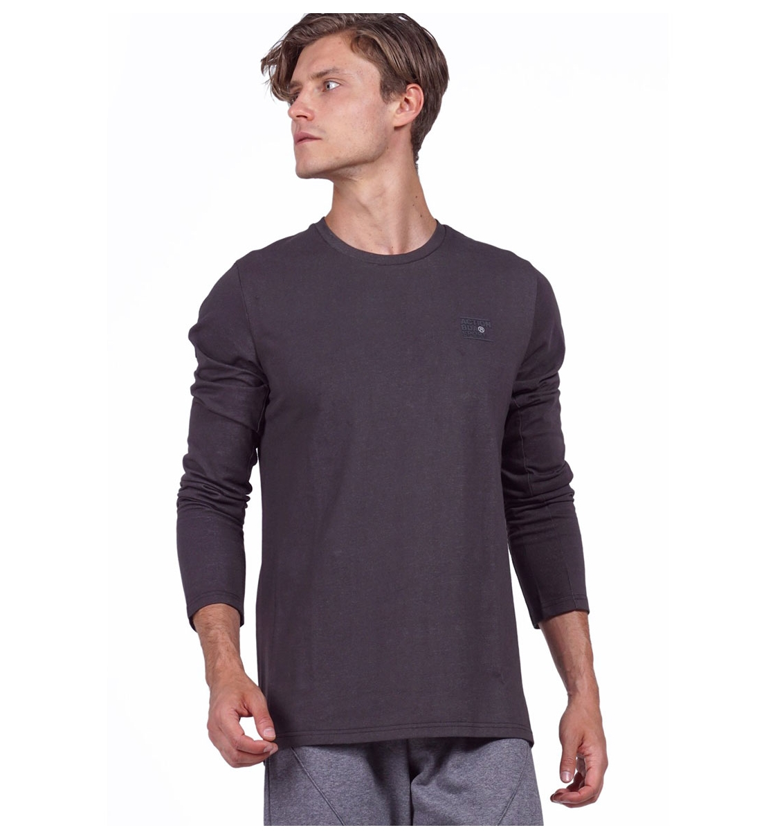 Body Action Fw19 Men Long Sleeve Active T-Shirt