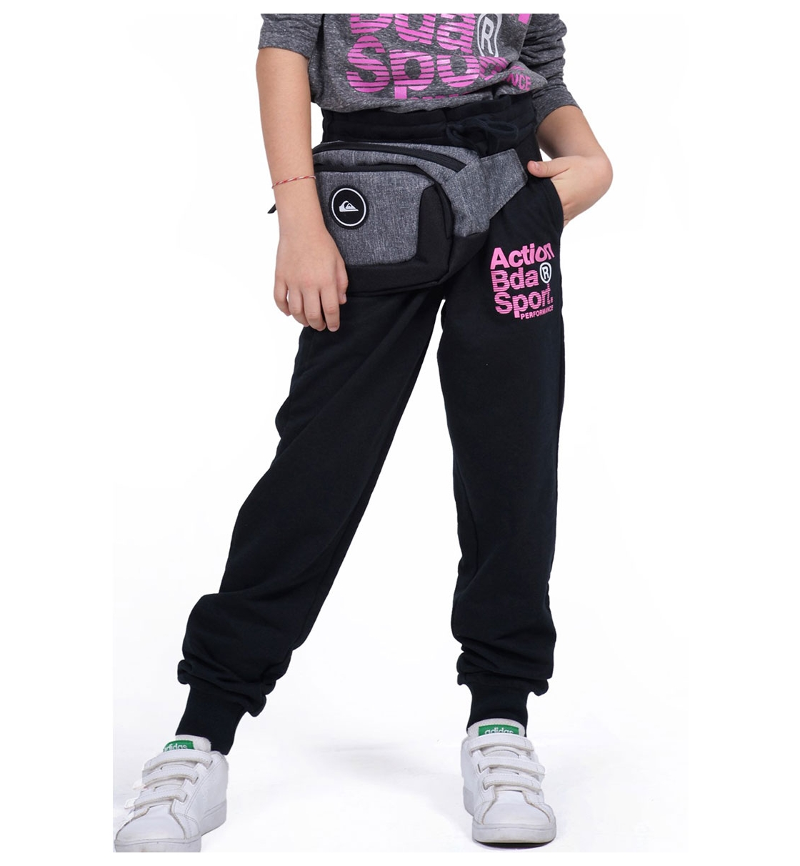 Body Action Παιδικό Αθλητικό Παντελόνι Fw19 Girls Basic Pants 022902