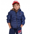 Body Action Παιδικό Αθλητικό Μπουφάν Fw19 Boys Quilt Padded Jacket With Hood 074903