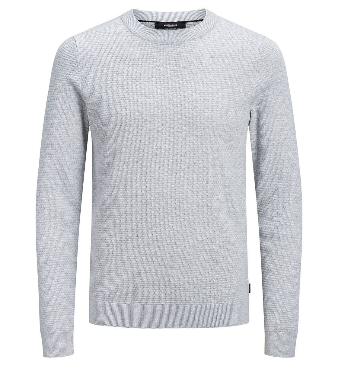 Jack & Jones Fw19 Jprfast Structure Knit Crew Neck