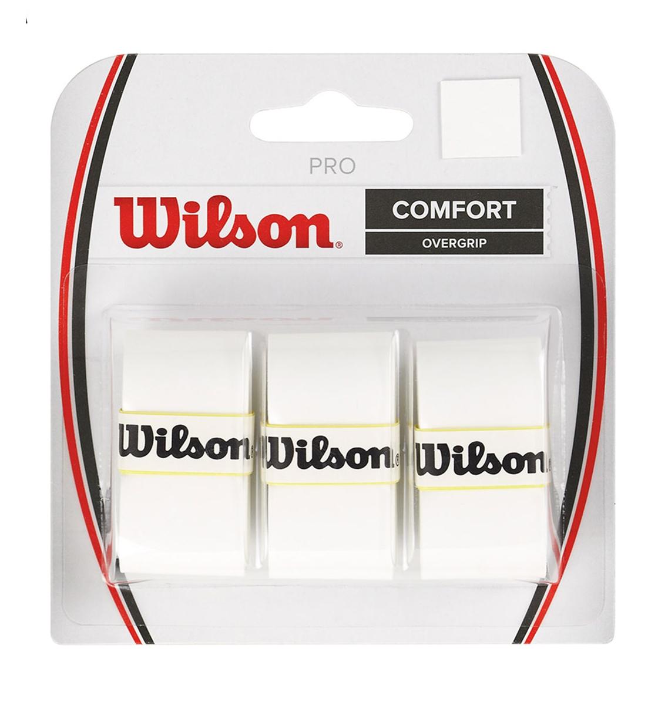 Wilson Αντιιδρωτικό Grip Ρακέτας Fw19 Wrz4014Wh Pro Overgrip Wh WRZ4014WH