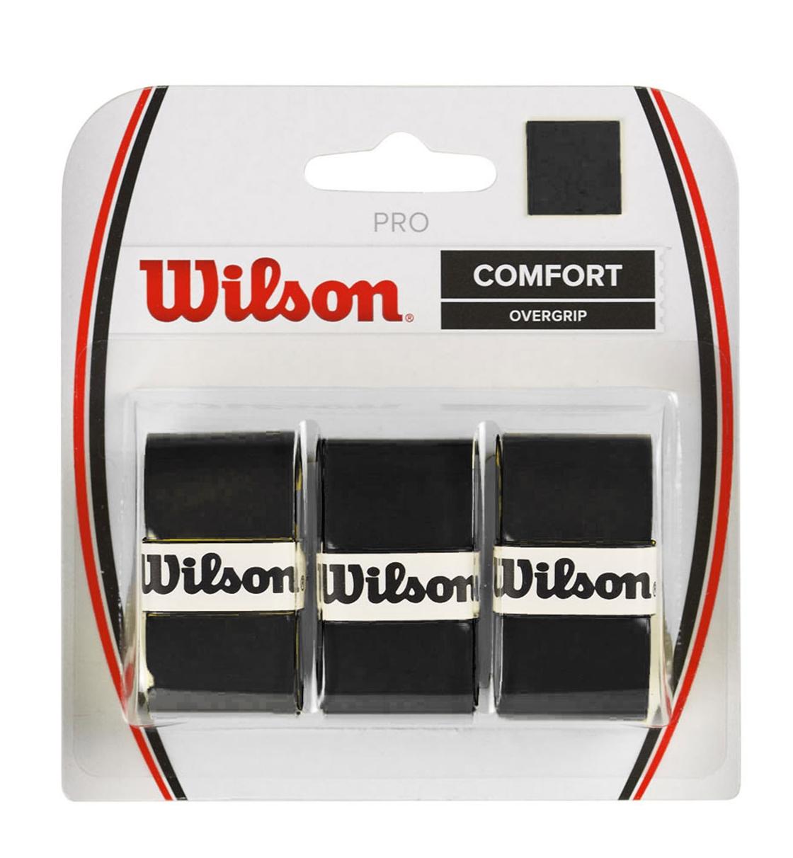 Wilson Αντιιδρωτικό Grip Ρακέτας Fw19 Wrz4014Bk Pro Overgrip Bk WRZ4014BK