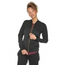 Body Talk Fw17 Rich W Zip Sweater Ls