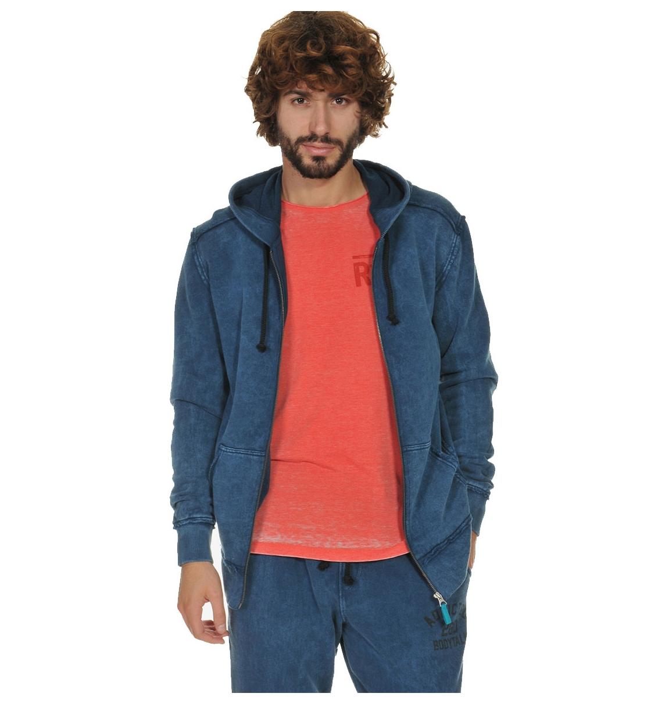 Body Talk Fw17 Addictedm Hood Zip Sweater