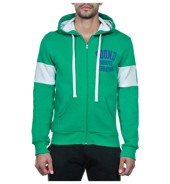 Body Talk Fw14 Groovem Hood Zip Sweater