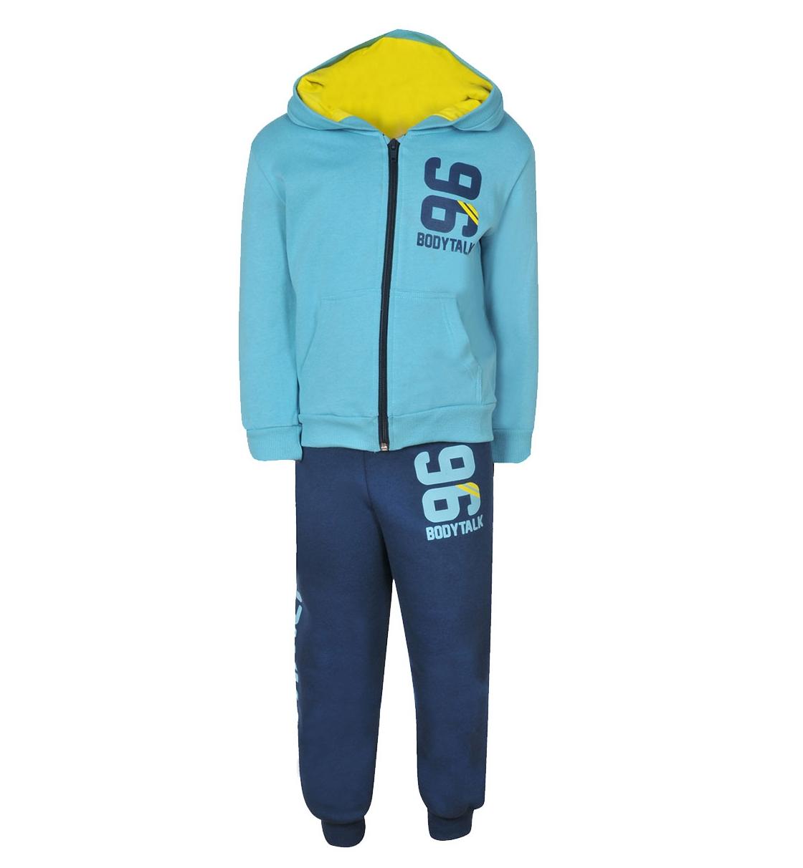 Body Talk Fw15 96Infset Hood Zip Sweater+Pants