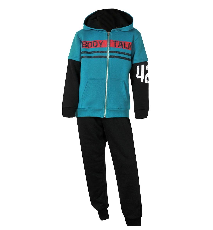 Body Talk Fw15 Bodytalklogob Set Hood Zip Sweater+Pants
