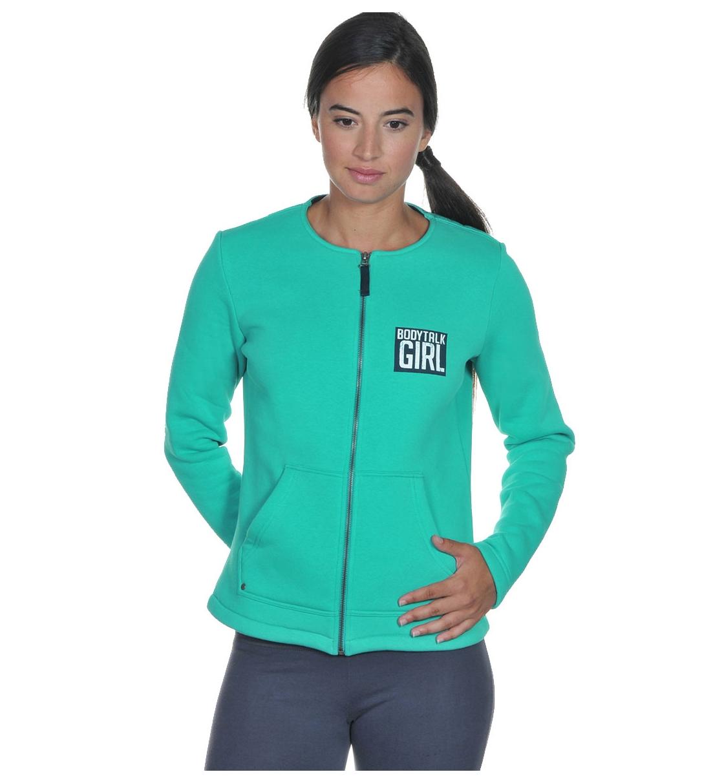 Body Talk Fw15 Bodytalk Girlw Zip Sweater