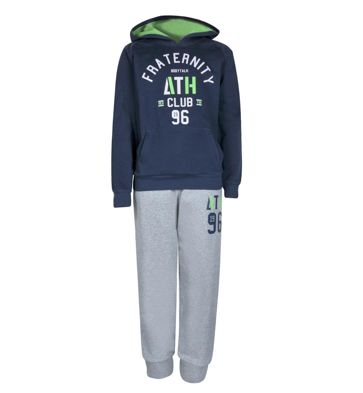 Body Talk Fw16 Fraternityb Set Hood Sweater+Pants