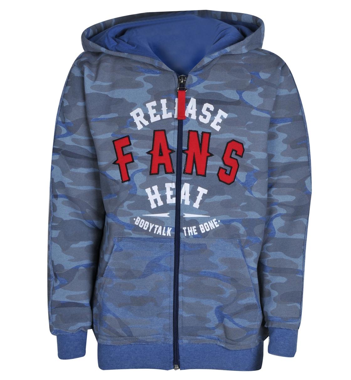 Body Talk Fw16 Fansb Hood Zip Sweater