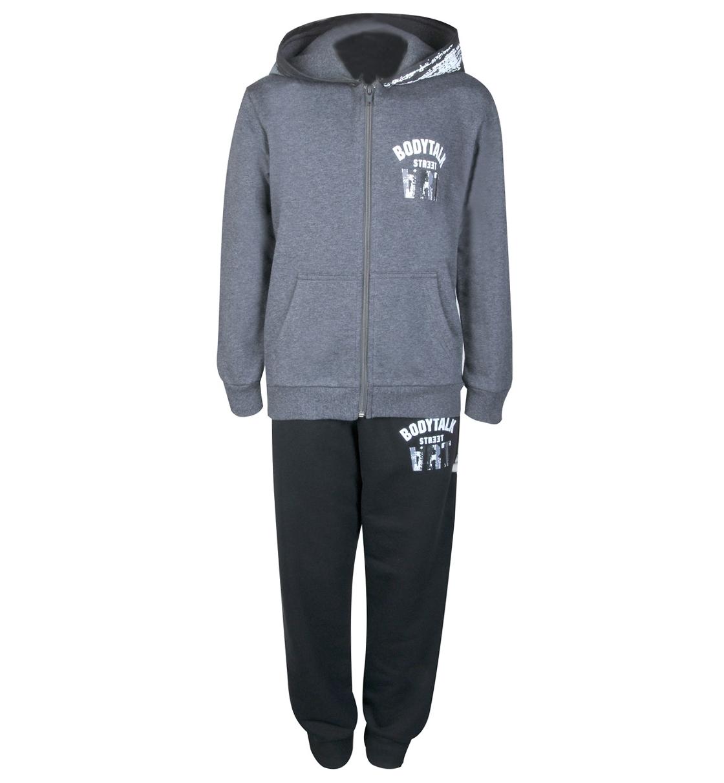 Body Talk Fw16 Artb Set Hood Zip Sweater+Pants