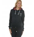 Body Talk Fw16 Hotw Hood Zip Sweater