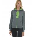 Body Talk Fw16 Flashw Hood Zip Sweater