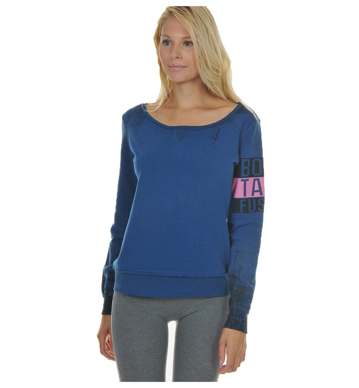 Body Talk Fw16 Fusionw Ls Sweater