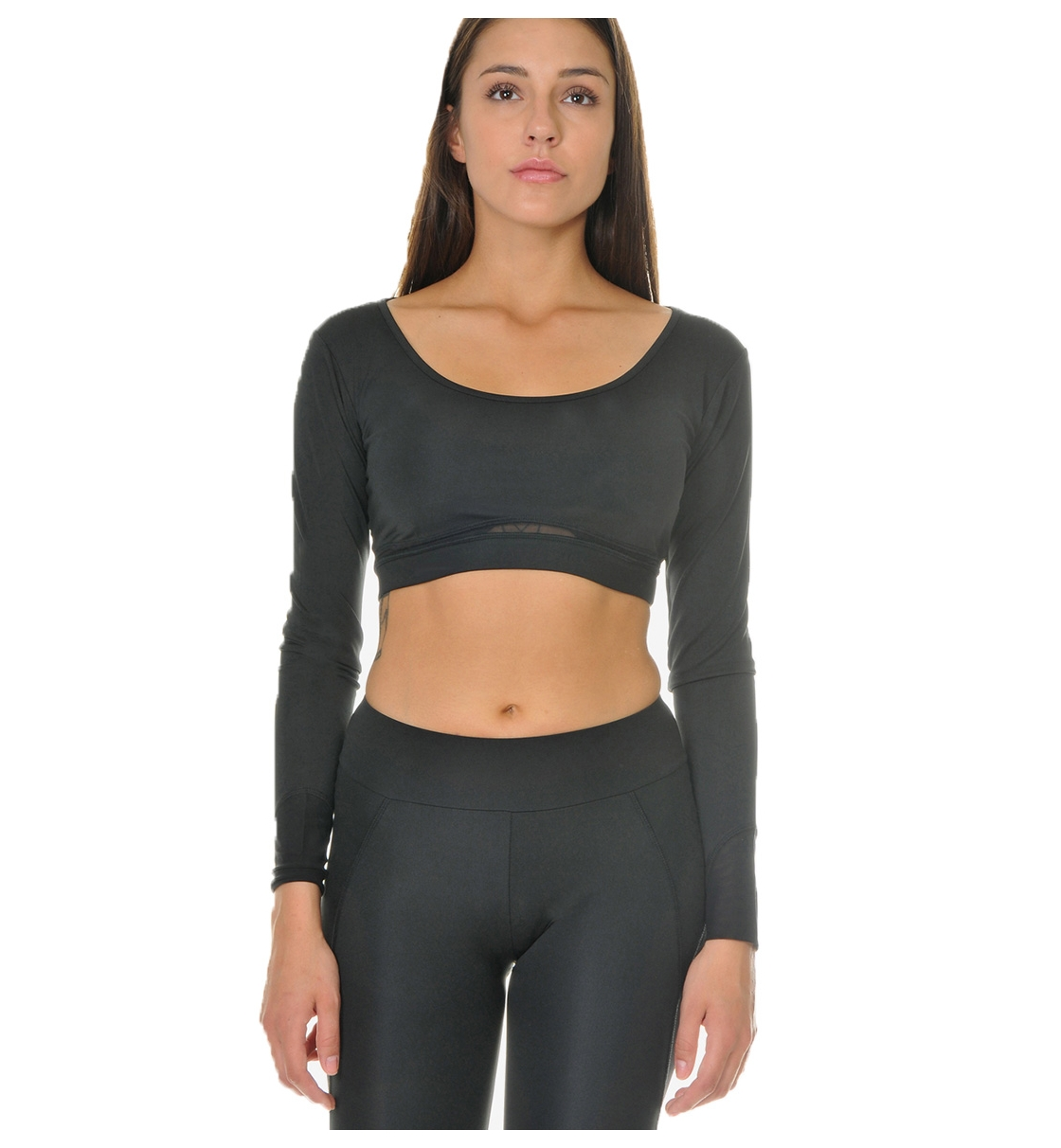 Body Talk Fw16 Spicyw Ls Bra Top