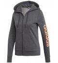 Adidas Fw19 Essentials Linear Full Zip Fleece Hoodie