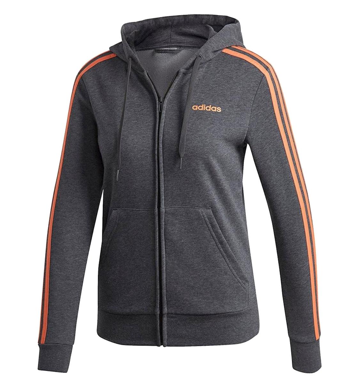Adidas Fw19 Essentials 3S Full Zip Hoodie