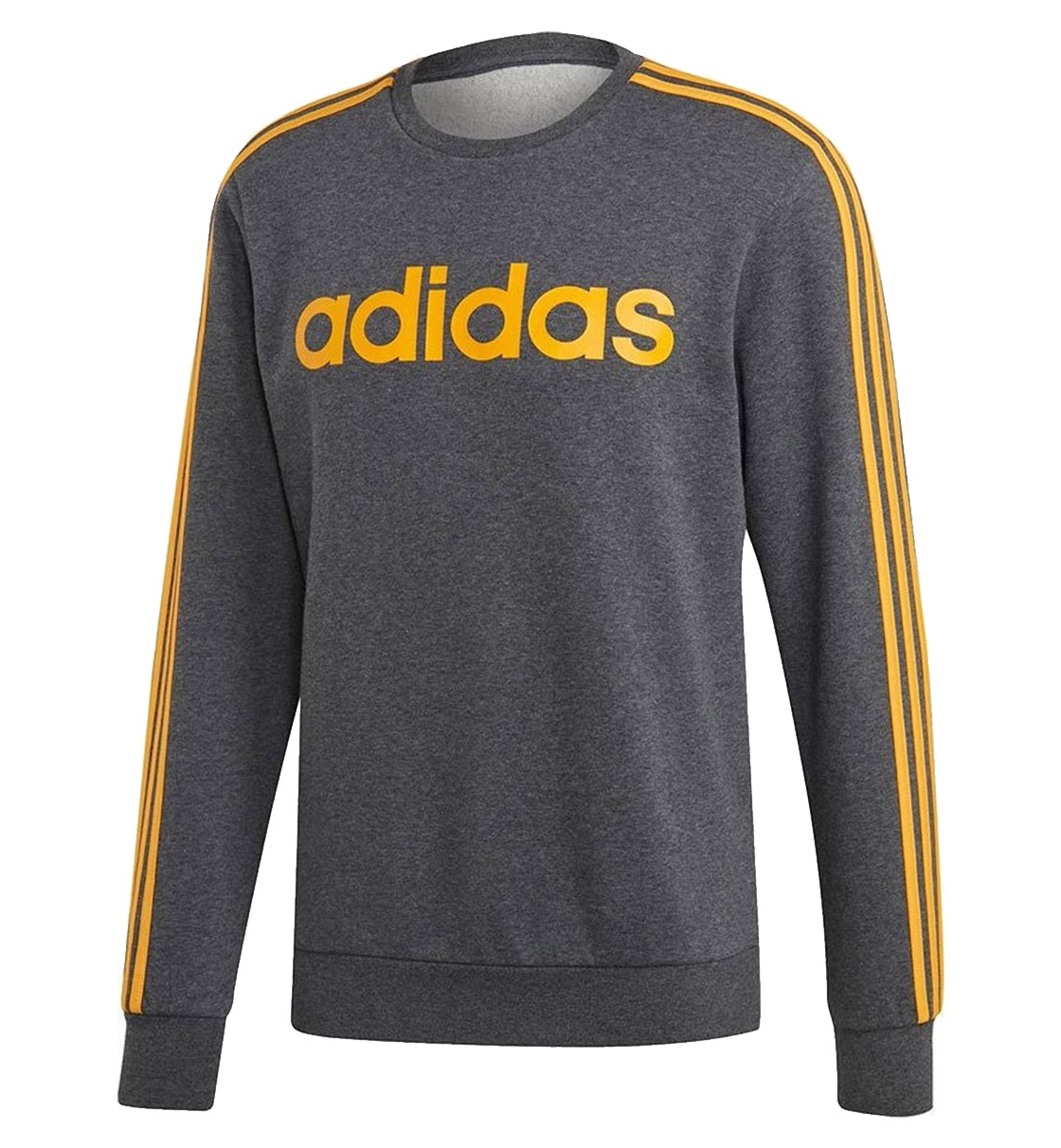 Adidas Fw19 Essentials 3 Stripes Crewneck Fleece