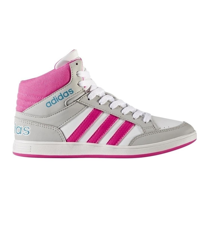 Παιδικό Παπούτσι Μόδας Hoops Mid K CG5767