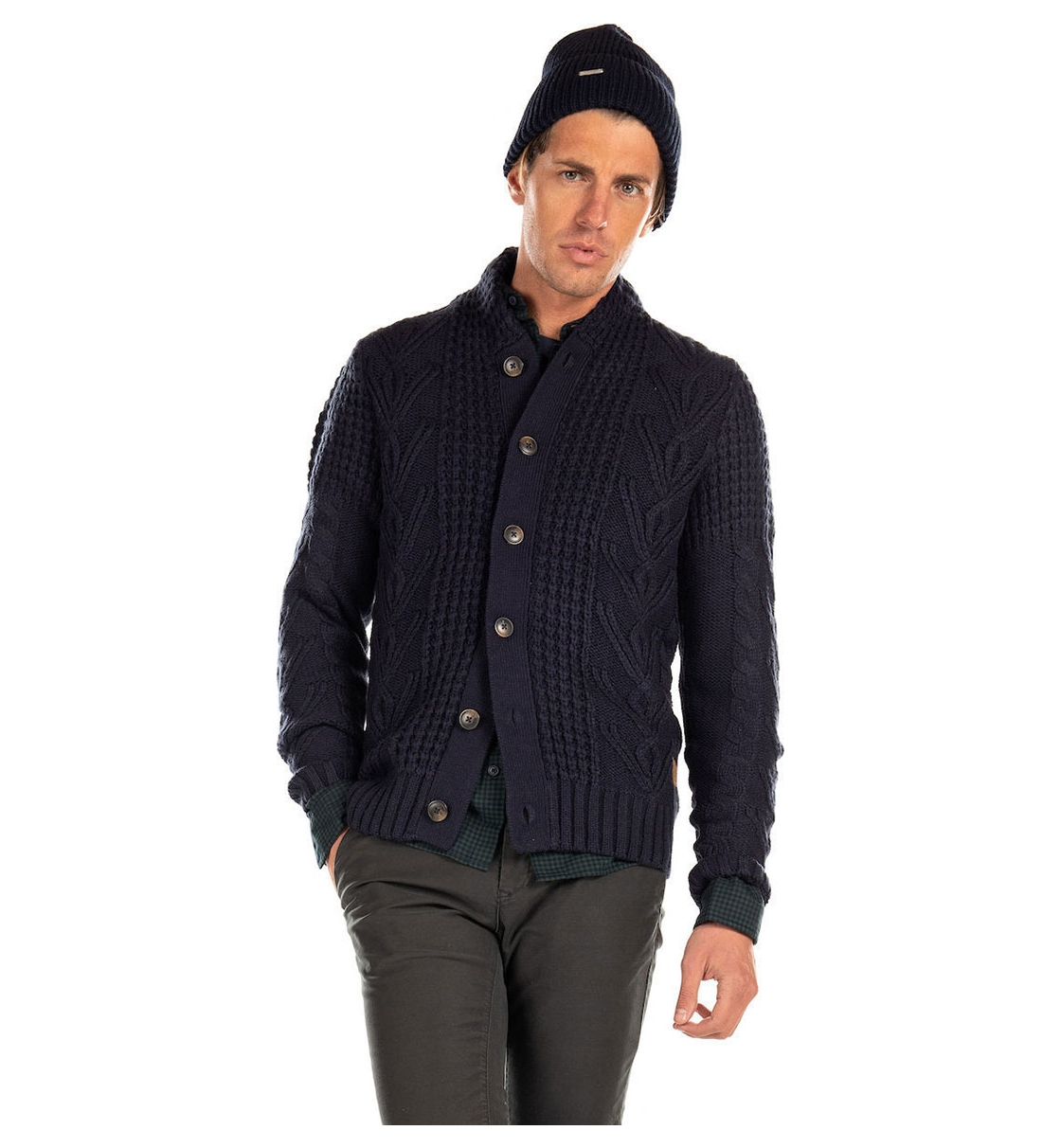 Jack & Jones Fw19 Jorkenny Knit Cardigan