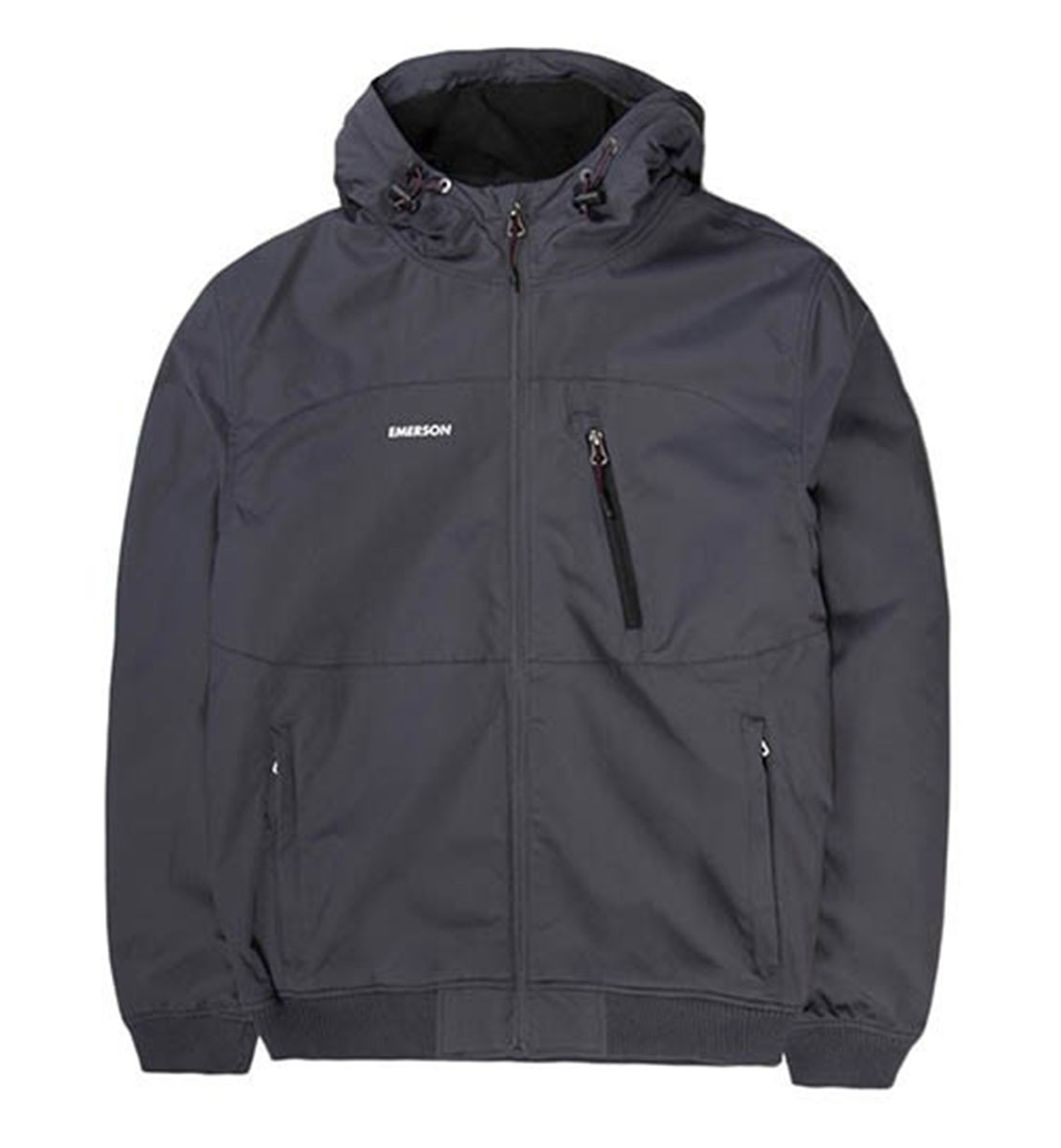 Emerson Fw19 Men'S Ribbed Jacket With Hood