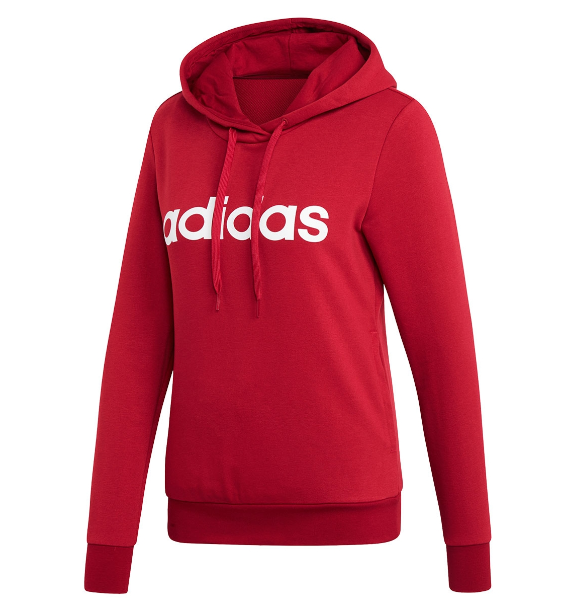 Adidas Fw19 Essentials Linear Over Head Hoodie