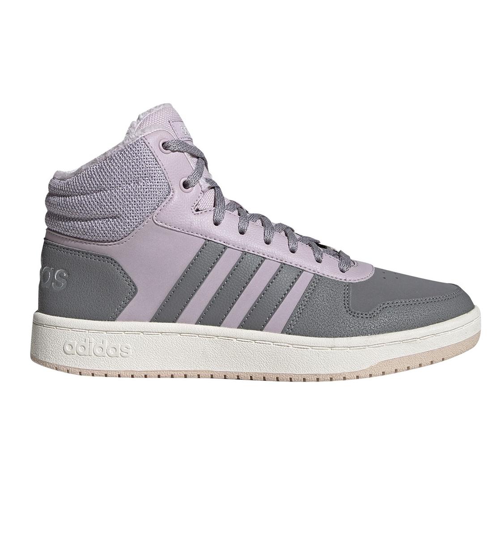 adidas Γυναικείο Παπούτσι Μόδας Fw19 Hoops 2.0 Mid EE7878