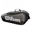 Wilson Τσάντα Τένις Fw19 Team 2 Comp Gy Τσαντες WRZ854909