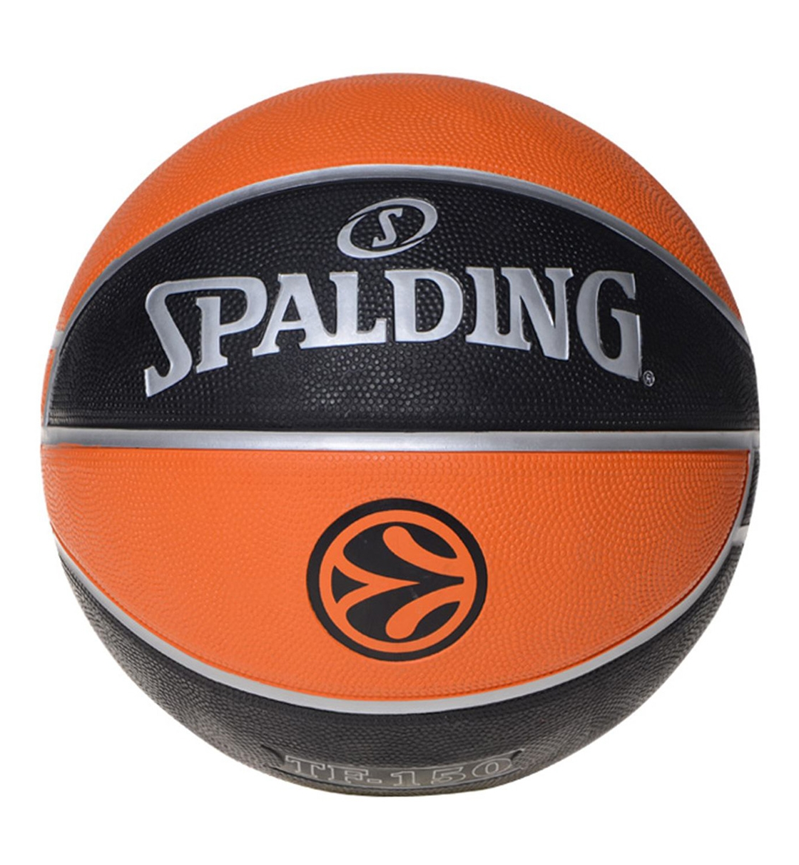 Spalding Fw19 Tf-150 Euroleague Official Rubber Replica Ball
