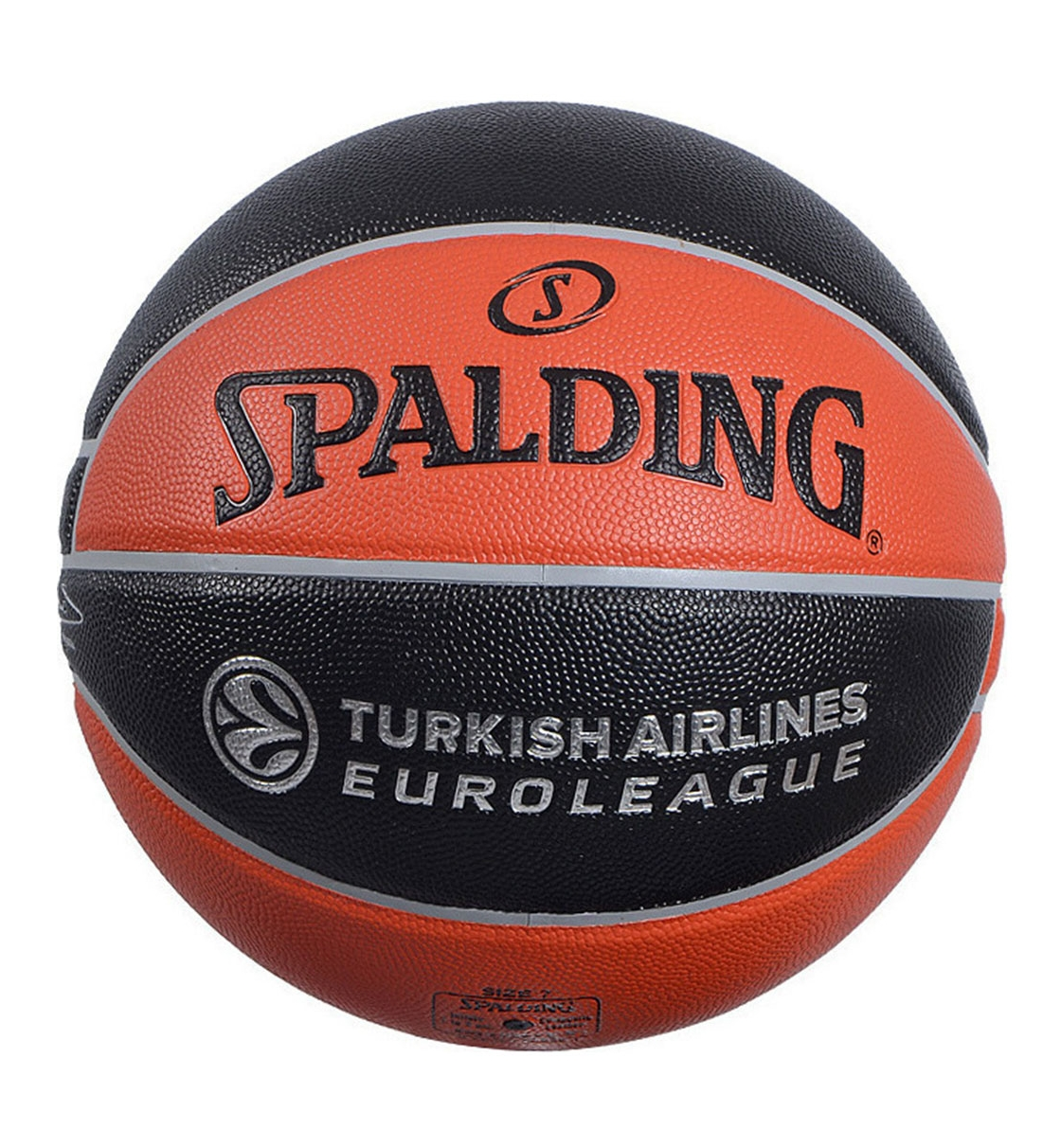 Spalding Μπάλα Basket Fw19 Tf-500 Euroleague Official I/O Replica Ball 74-539Z1