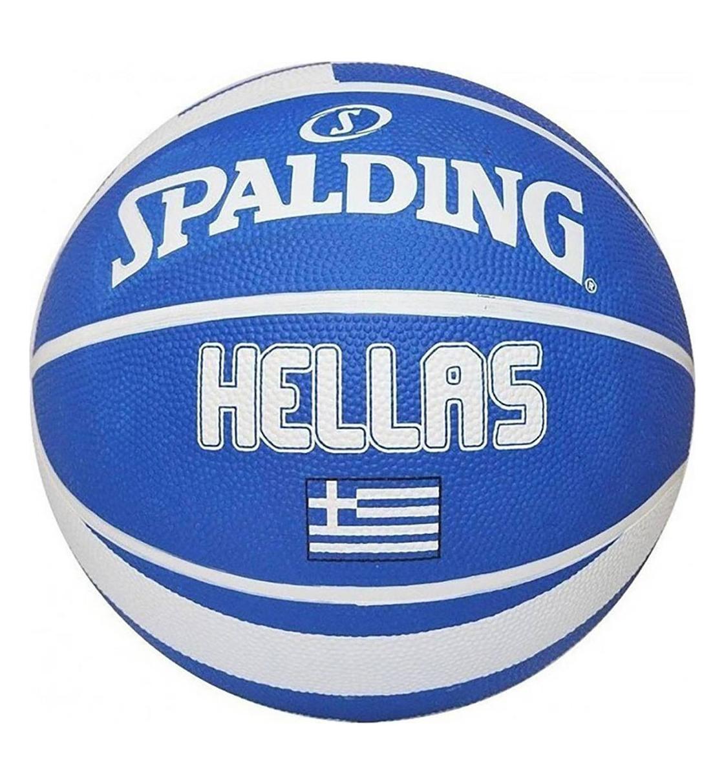 Spalding Μπάλα Basket Fw19 Greek Olympic Ball Rubber 83-424Z1
