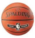 Spalding Μπάλα Basket Fw19 Nba Silver Series Outdoor Rubber Basketball 83-494Z1