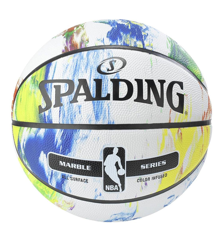 Spalding Μπάλα Basket Fw19 Multi Color Rubber 83-636Z1