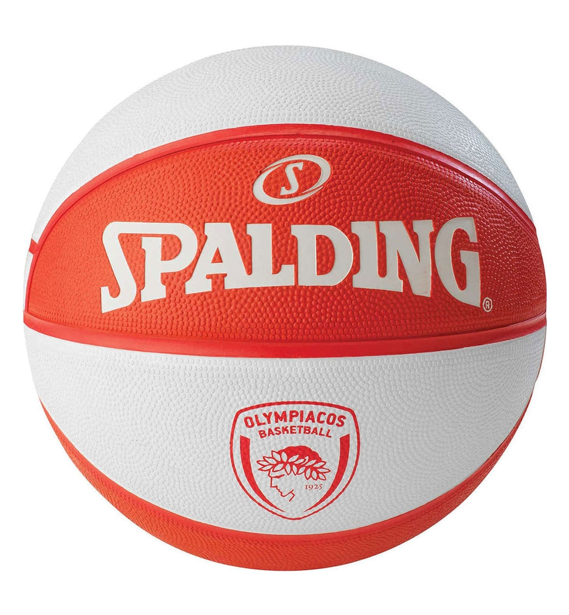 Spalding Fw19 New Olympiakos Piraeus Euroleague Team Rubber-Basketball