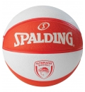 Spalding Fw19 New Olympiakos Piraeus Euroleague Team Rubber-Basketball