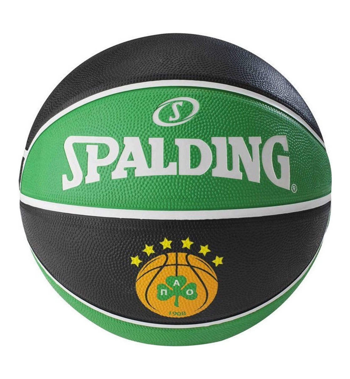 Spalding Μπάλα Basket Fw19 New Panathinaikos Athens Euroleague Team Rubb 83-786Z1