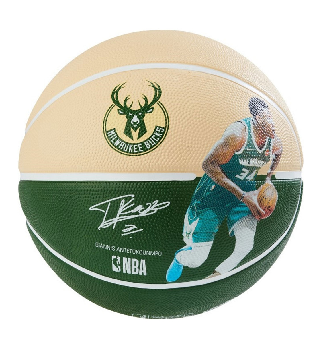 Spalding Μπάλα Basket Fw19 New Nba Player Bucks Giannis Antetokounmpo 83-836Z1