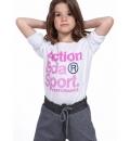 Body Action Παιδική Μακρυμάνικη Μπλούζα Fw19 Girls Long Sleeve T-Shirt 062901