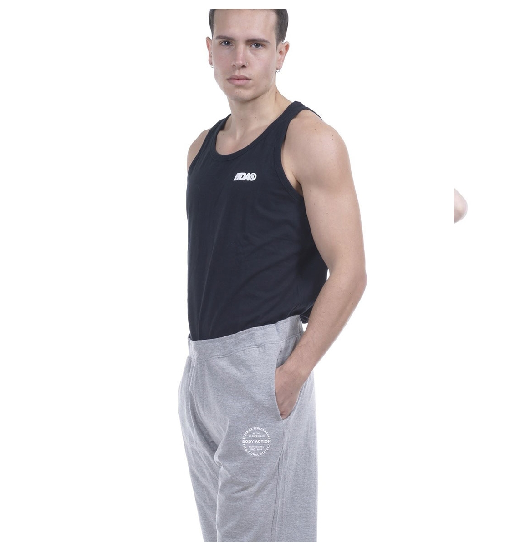 Body Action Ανδρική Αμάνικη Μπλούζα Ss20 Men Vintage Vest Top 043907
