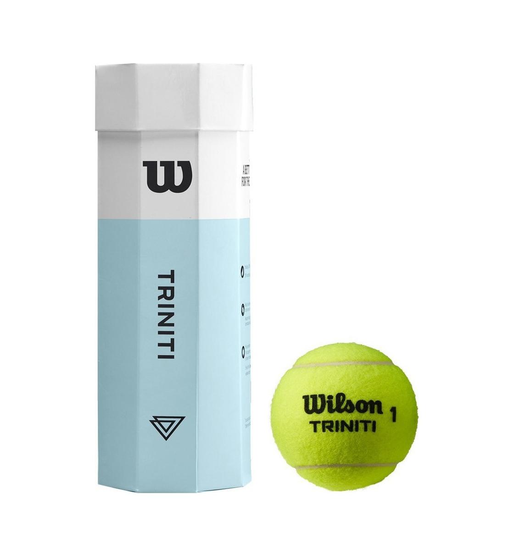 Wilson Μπαλάκια Tennis Fw19 Wrt125200 Triniti Tball 3 Ball Can WRT125200