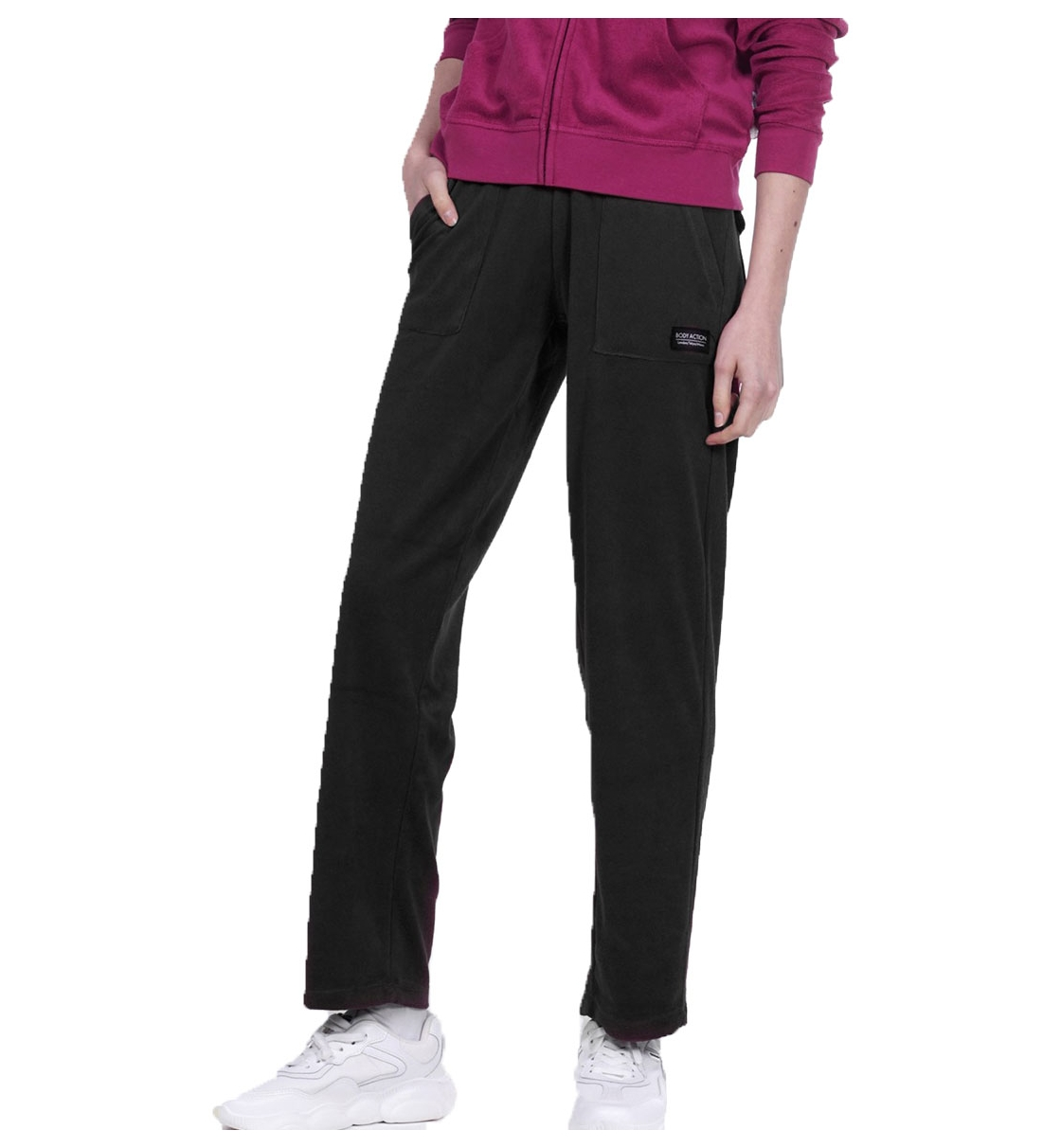 Body Action Ss20 Women Basic Terry Pants