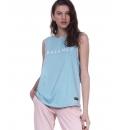 Body Action Γυναικεία Αμάνικη Μπλούζα Ss20 Women Workout Vest 041002