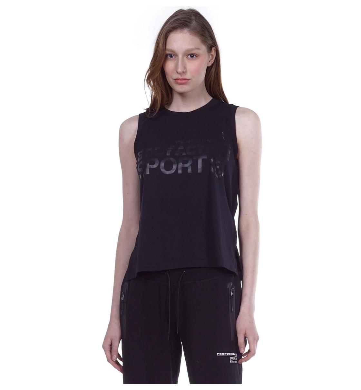 Body Action Γυναικεία Αμάνικη Μπλούζα Ss20 Women Active Loose Vest 041004
