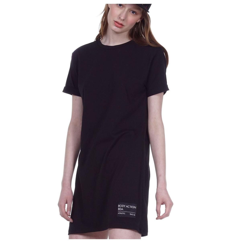 Body Action Ss20 Women Slim Line T-Shirt Dress